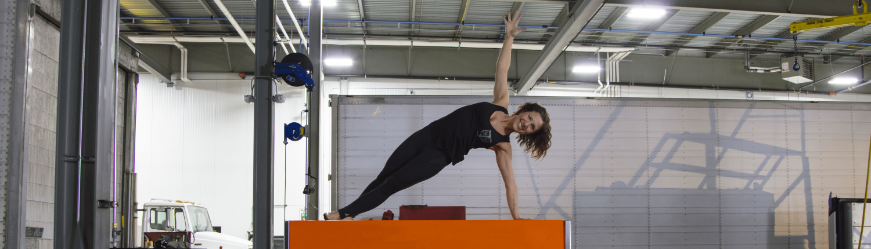 Yoga for Truckers - Side Plank - Mother Trucker Yoga