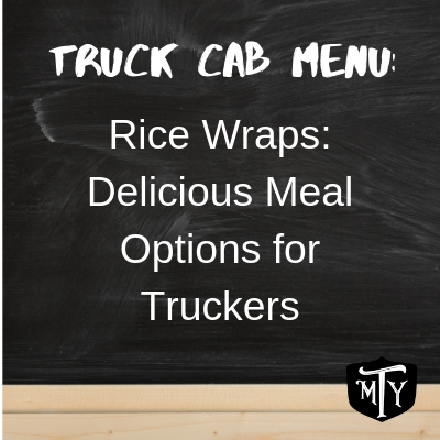 Trucking Meal Planning Rice Wraps Blog Post Mother Trucker Yoga