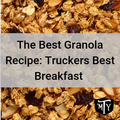 Granola Recipe Mother Trucker Yoga