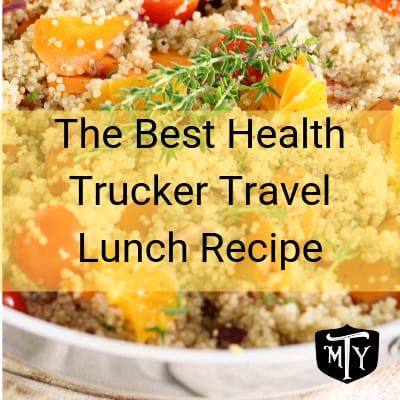 Recipe for Quinoa for Trucker Drivers Mother Trucker Yoga Blog Post