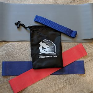 Mother Trucker Yoga Resistance Band Set Heavy