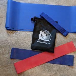 Mother Trucker Yoga Resistance Band Travel Set - Medium