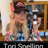 Tori Spelling Stiff Mother Trucker and Mother Trucker Yoga Fan