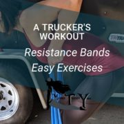 Travel Workout resistance bands mother trucker yoga blog post