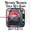 Mother Trucker Yoga Keychain backpack