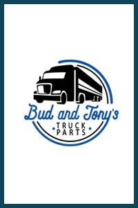 bud and tony's truck parts logo