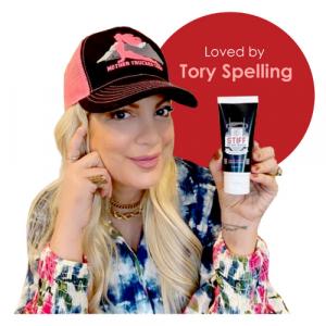 Tori Spelling LOVES STIFF Mother Trucker
