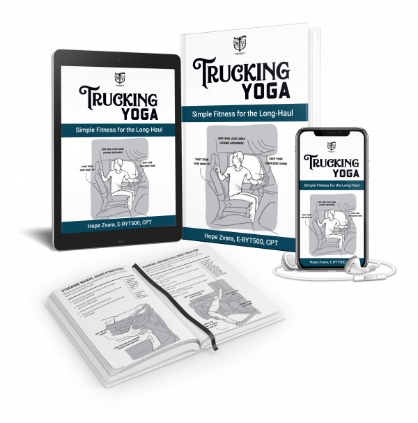 Trucking Yoga the book Mother Trucker Yoga
