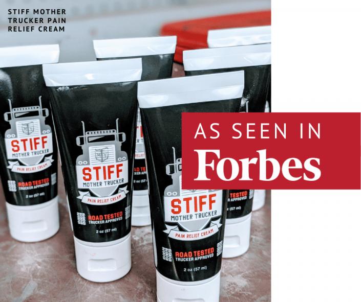 Forbes STIFF Mother Trucker Pain Relief Cream