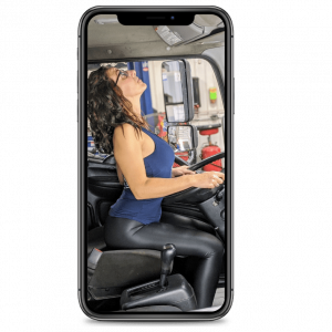 Mother Trucker Yoga driver seat subscribe