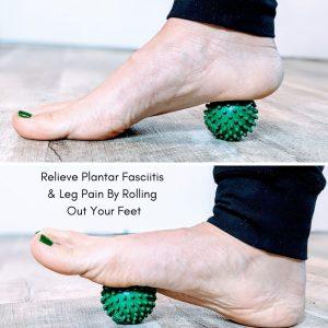 Foot Massage Ball Mother Trucker Yoga Plantar Fasciitis Blog