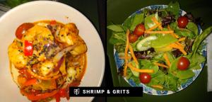 Healthy Trucker Food Shrimp and Grits Mother Trucker Yoga Blog 4