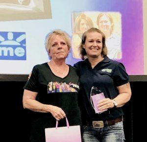 Real women in trucking award 2019 mother trucker yoga blog