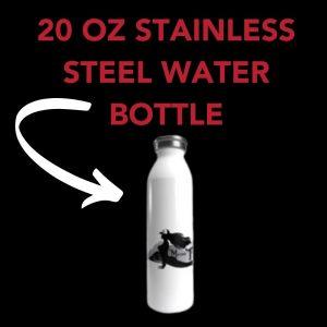 Mother Trucker yoga trucking yoga stainless steel water bottle