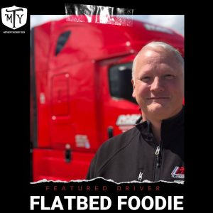 flatbedfoodie mother trucker yoga feature driver daniel