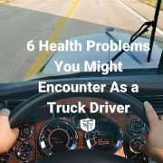 6 Health Problems You Might Encounter As a Truck Driver mother trucker yoga blog cover